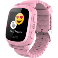 Детский телефон-часы с GPS трекером Elari KidPhone 2 Pink (KP-2P)