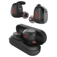Наушники Elari NanoPods Sport Bluetooth Black (NPS-2S-BLK)