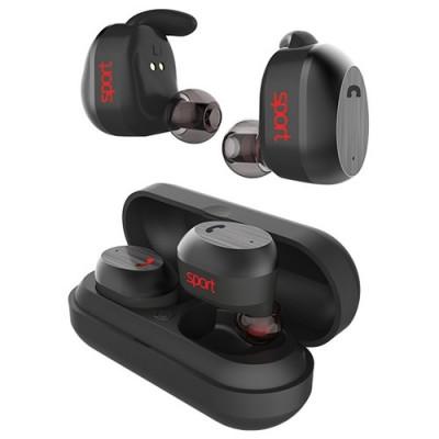 Наушники Elari NanoPods Sport Bluetooth Black (NPS-2S-BLK)