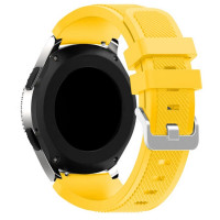 Ремешок Silicone Bracelet Samsung Gear 22 mm Yellow