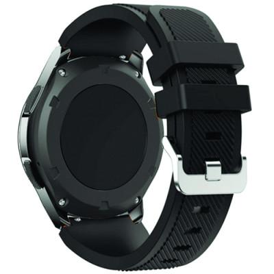 Ремешок Silicone Bracelet Samsung Gear 22 mm Black