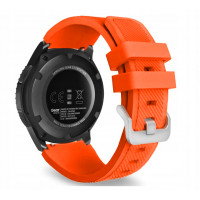 Ремешок Silicone Bracelet Samsung Gear 22 mm Orange