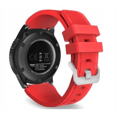 Ремешок Silicone Bracelet Samsung Gear 22 mm Red