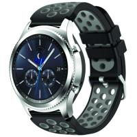 Ремешок Nike Design Bracelet Samsung Gear 22 mm Black & Gray