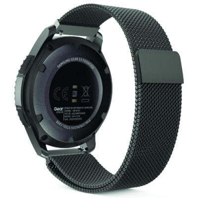 Браслет Milanese Design Bracelet Samsung Gear 22 mm Black