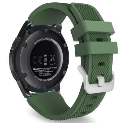 Ремешок Silicone Bracelet Samsung Gear 22 mm Green