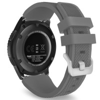 Ремешок Silicone Bracelet Samsung Gear 22 mm Gray
