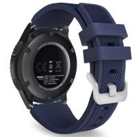 Ремешок Silicone Bracelet Samsung Gear 22 mm Blue