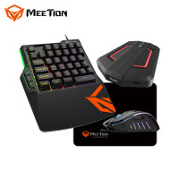 Набор игровой Combo MeeTion Gaming 4in1 Keyboard/Mouse/MousePad/Console MT-C0015