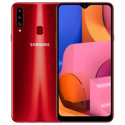 Samsung Galaxy A20s 3/32Gb Red (UA UCRF) - (SM-A207FZRD)