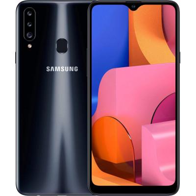 Samsung Galaxy A20s 3/32Gb Black  (UA UCRF) - (SM-A207FZKD)