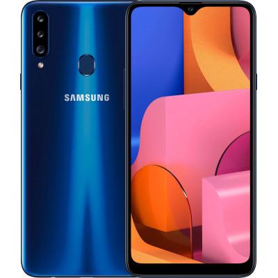Samsung Galaxy A20s 3/32Gb Blue (UA UCRF) - (SM-A207FZBD)