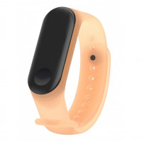 Ремешок Clear Design Bracelet для Xiaomi Mi Band 3/4 Orange