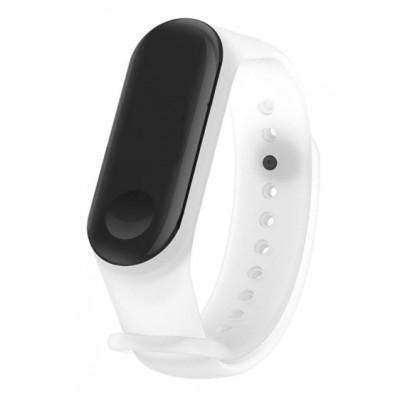 Ремешок Clear Design Bracelet для Xiaomi Mi Band 3/4 White