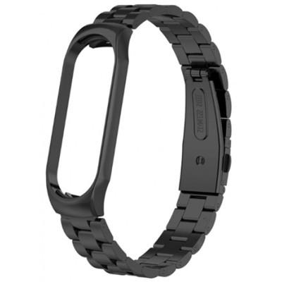 Браслет Bead Design Bracelet для Xiaomi Mi Band 3/4 Black