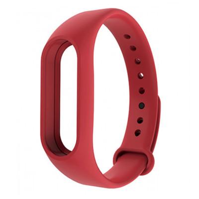 Ремешок Original Design Bracelet для Xiaomi Mi Band 2 Red