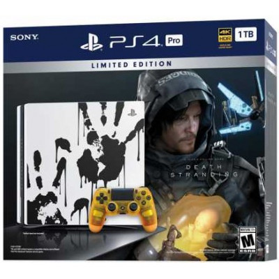 Sony PlayStation 4 Pro 1Tb Black + Death Stranding (Limited Edition) (9327608)