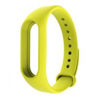 Ремешок Original Design Bracelet для Xiaomi Mi Band 3/4 Yellow