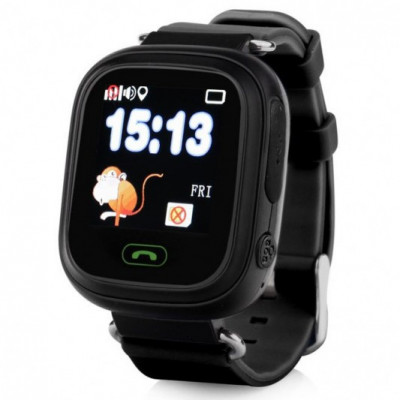Smart Baby Watch Q90 с GPS — Black