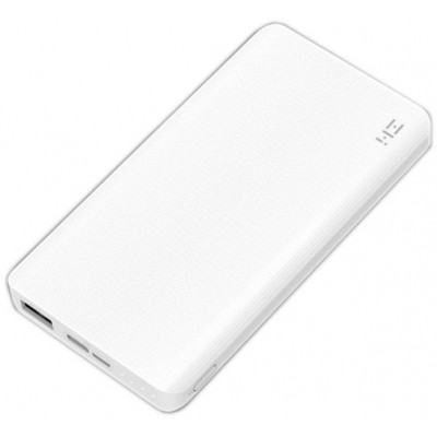 Power Bank Xiaomi ZMi 10000 mAh Type-C White (QW810)
