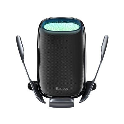 Держатель BASEUS Milky Way Electric Bracket Wireless Charger (15W) Black