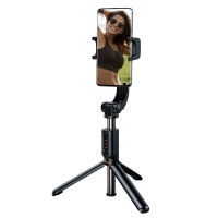 Селфи-монопод и стабилизатор Baseus Lovely Uniaxial Bluetooth Folding Stand Selfie Stabilizer