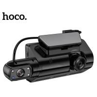 Видеорегистратор HOCO Dual Cameras Driving Recorder Di07 (HD, 2 Camera) Black