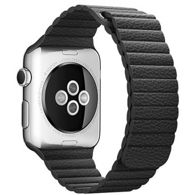 Браслет Apple Watch Leather Loop Bracelet 38/40mm Black
