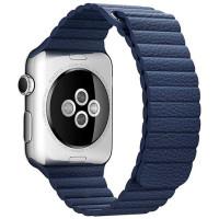Браслет Apple Watch Leather Loop Bracelet 42/44mm Blue
