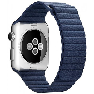 Браслет Apple Watch Leather Loop Bracelet 38/40mm Blue