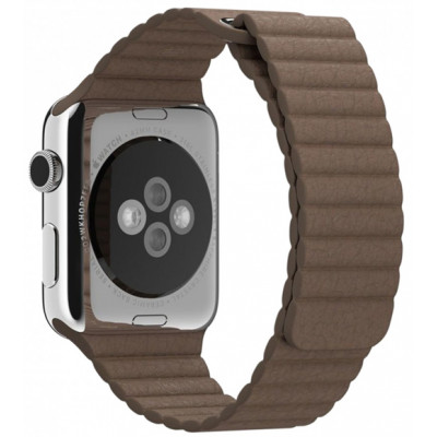 Браслет Apple Watch Leather Loop Bracelet 38/40mm Brown