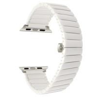 Браслет для Apple Watch Ceramic Strap Design Bracelet 38/40mm White