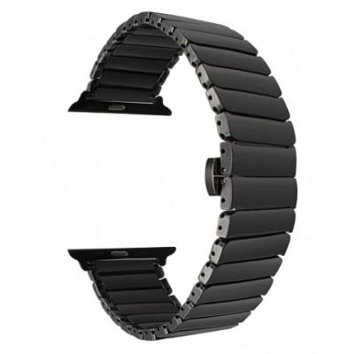 Браслет для Apple Watch Ceramic Strap Design Bracelet 38/40mm Black