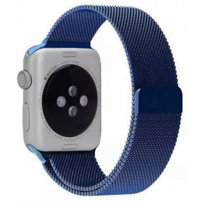 Браслет для Apple Watch Milanese Loop Steel Bracelet 38/40mm Blue