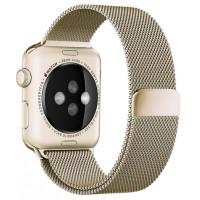 Браслет для Apple Watch Milanese Loop Steel Bracelet 38/40mm Gold