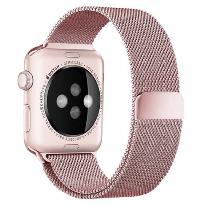 Браслет для Apple Watch Milanese Loop Steel Bracelet 38/40mm Rose Gold