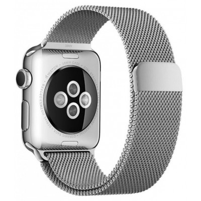 Браслет для Apple Watch Milanese Loop Steel Bracelet 38/40mm Silver