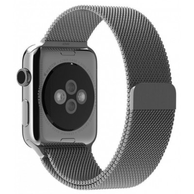 Браслет для Apple Watch Milanese Loop Steel Bracelet 38/40mm Space Gray