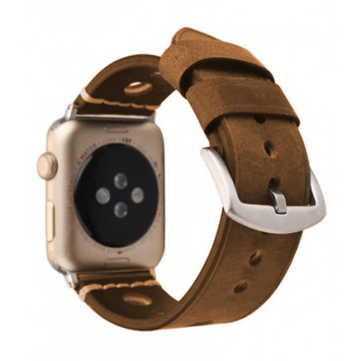 Ремешок для Apple Watch Leather Bracelet Series Ancient 38/40mm Brown