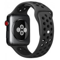 Ремешок для Apple Watch Silicone Nike Design 42/44mm Black