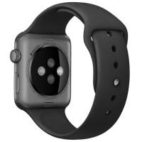Ремешок для Apple Watch Silicone 42/44mm Black
