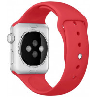 Ремешок для Apple Watch Silicone 42/44mm Red