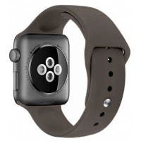 Ремешок для Apple Watch Silicone 42/44mm Cacao