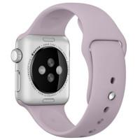Ремешок для Apple Watch Silicone 42/44mm Lavander