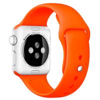 Ремешок для Apple Watch Silicone 42/44mm Orange