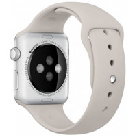 Ремешок для Apple Watch Silicone 42/44mm Stone