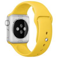 Ремешок для Apple Watch Silicone 38/40mm Yellow