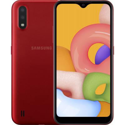 Samsung Galaxy A01 2/16GB Red (UA UCRF) - (SM-A015FZKDSEK)