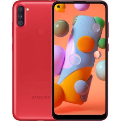 Samsung Galaxy A11 2/32GB Red (UA UCRF) - (SM-A115FZRNSEK)
