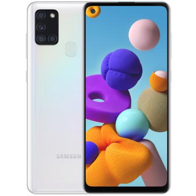 Samsung Galaxy A21s 3/32GB White (UA UCRF) - (SM-A217FZWNSEK)